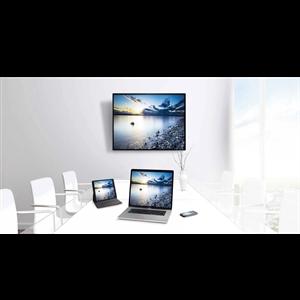 """Panel interactivo táctil de 20 toques de 86"""" con Panel 4K UHD con resolución de 3,840 x 2,160, panel DLED de 350 CD con 17"""