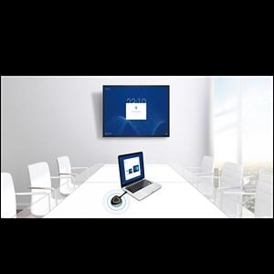 """Panel interactivo táctil de 20 toques de 75"""" con Panel 4K UHD con resolución de 3,840 x 2,160, panel DLED de 350 CD con 17"""