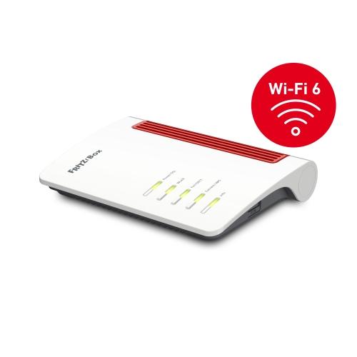 Modem/Router wireless FRITZ! FRITZ!Box 7530 AX - IEEE 802.11ac - VDSL, ADSL - Dual Band - 2,40 GHz ISM band - 5 GHz Banda