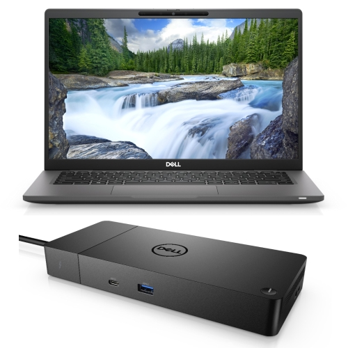 DELL LATITUDE 7420 I5-1135G7 16GB[1X16GB DDR4-NON ECC] 256GB[M.2-SSD] + DELL THUNDERBOLT DOCKING STATION WD19TBS FOR ADDIT