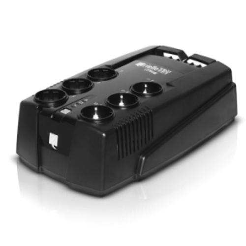 Riello IPG 600. Capacidad de potencia de salida (VA): 0,6 kVA, Potencia de salida: 360 W, Forma de onda: Seno. Tipo de sal