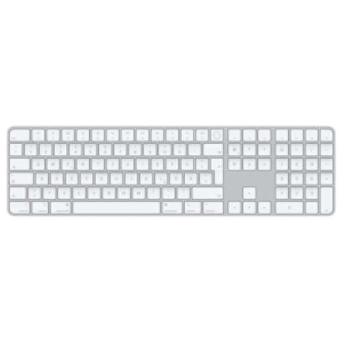 Apple Magic. Keyboard form factor: Full-size (100%). Keyboard style: Straight. Device interface: USB + Bluetooth, Recommen