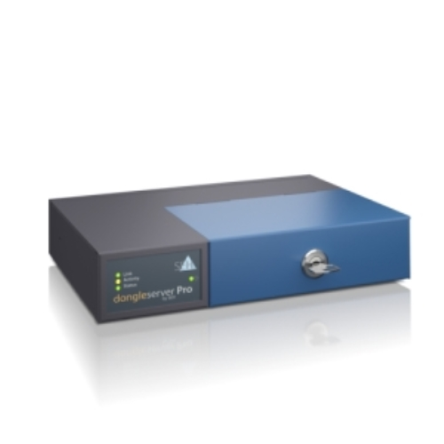 SEH dongleserver Pro®. Product colour: Black, Blue. Network connection type: Ethernet LAN, Networking standards: IEEE 802.