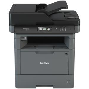 Brother MFC MFCL5755DW Wireless Laser Multifunction Printer - Monochrome - Copier/Fax/Printer/Scanner - 42 ppm Mono Print