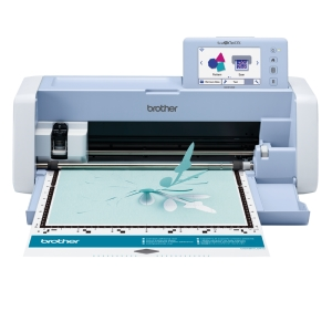 Brother ScanNCut SDX1200 Electronic Cutting System - 53.1 cm Width x 21.5 cm Depth x 17.3 cm Height