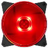 Cooler Master MASTERFAN MF120L 120MM RED LED FAN 1200 RPM
