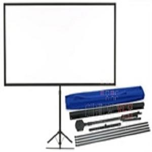 "EPSON 80"" PORTABLE TRIPOD PROJECTOR SCREEN, WIDESCREEN INCL SHOULDER BAG"