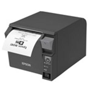Thermal Receipt printer with Dual Parallel/USB Interface, with Power Supply, Dark Grey