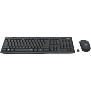 LOGITECH MK295 WIRELESS SILENT  KEYBOARD AND MOUSE COMBO, 2.4GHZ USB RECEIVER - 1YR WTY