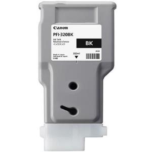 Canon PFI-320BK Original Ink Cartridge - Black - Inkjet