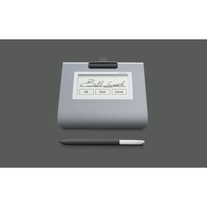 "Wacom STU-430. Diagonal: 11.4 cm (4.5""), Native resolution: 320 x 200 pixels, Working area: 96 x 60 mm. Product colour: Gr"