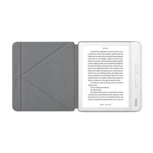 Rakuten Kobo Kobo Libra H2O. Case type: Folio, Product colour: Grey, Brand compatibility: Kobo